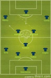 New shape: 4-3-3 vs Costa Rica and Tunisia